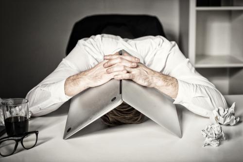 挫折、諦め、限界